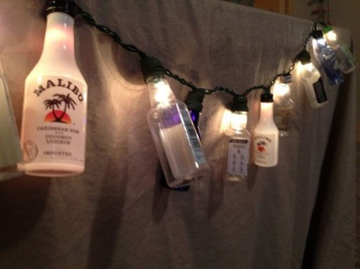 Recycled and Reuse Empty Plastic Bottles Into a String of Lights Ideas 35