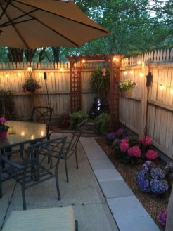 Small Backyard Patio Ideas On a Budget 11