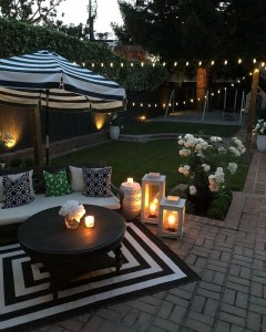 Small Backyard Patio Ideas On a Budget 47