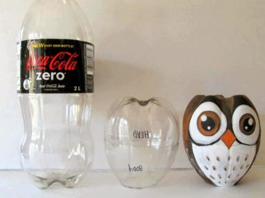 Ways to Reuse and Recycle Empty Plastic Bottles in Your Home Decoration 10