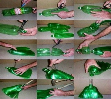Ways to Reuse and Recycle Empty Plastic Bottles in Your Home Decoration 15