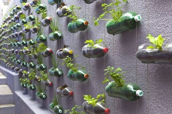 Ways to Reuse and Recycle Empty Plastic Bottles in Your Home Decoration 20
