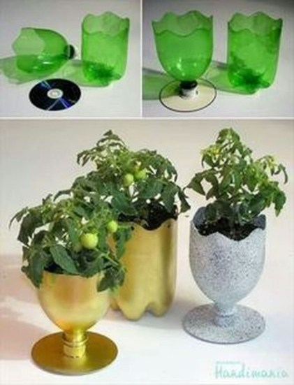 Ways to Reuse and Recycle Empty Plastic Bottles in Your Home Decoration 29