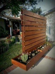 Amazing Farmhouse Privacy Fence to Perfect Your Backyard 20