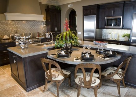 Awesome Kitchen Island Design Ideas with Modern Decor & Layout 19