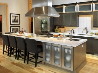 Awesome Kitchen Island Design Ideas with Modern Decor & Layout 31