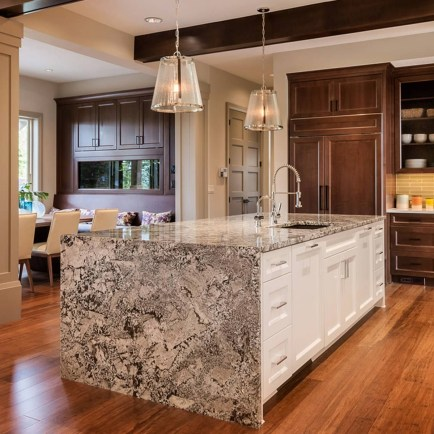 Awesome Kitchen Island Design Ideas with Modern Decor & Layout 38