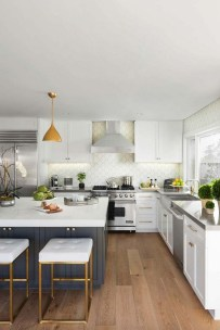 Awesome Kitchen Island Design Ideas with Modern Decor & Layout 46