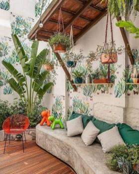 Basic Exterior Wall Into an Elegant Vertical Garden to Perfect Your Garden 08