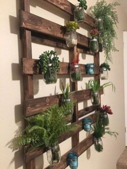 Basic Exterior Wall Into an Elegant Vertical Garden to Perfect Your Garden 30