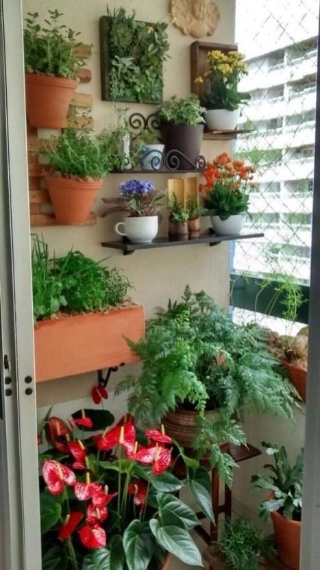 Basic Exterior Wall Into an Elegant Vertical Garden to Perfect Your Garden 38
