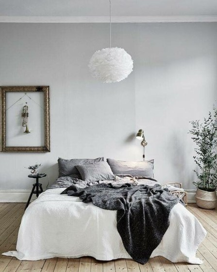 Best Minimalist Bedroom Color Inspiration 22