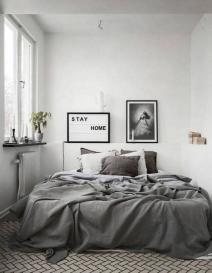 Best Minimalist Bedroom Color Inspiration 25