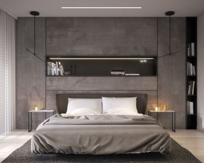 Best Minimalist Bedroom Color Inspiration 32