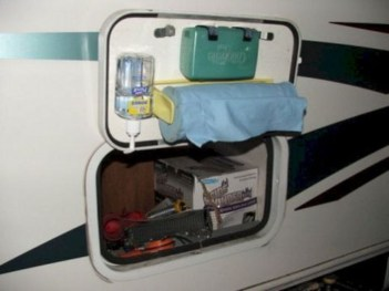 Best RV Modifications with DIY Storage 43