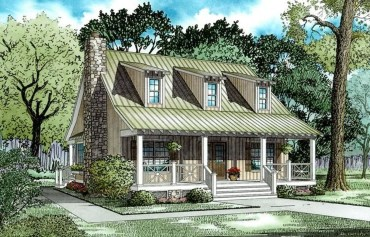 Comfortable Small Cottage House Plan Ideas 01
