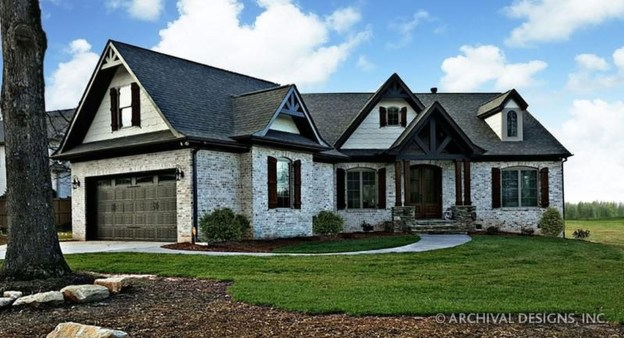 Comfortable Small Cottage House Plan Ideas 34