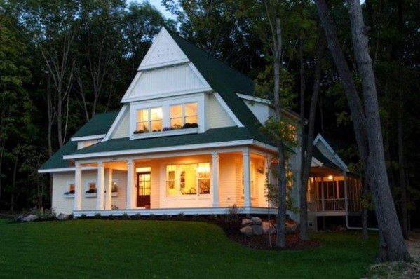Comfortable Small Cottage House Plan Ideas 40