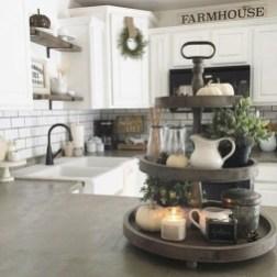 Cool Farmhouse Kitchen Decor Ideas On a Budget 04