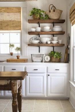 Cool Farmhouse Kitchen Decor Ideas On a Budget 25