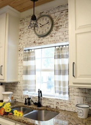 Cool Farmhouse Kitchen Decor Ideas On a Budget 26