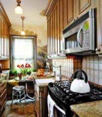 Cool Farmhouse Kitchen Decor Ideas On a Budget 30