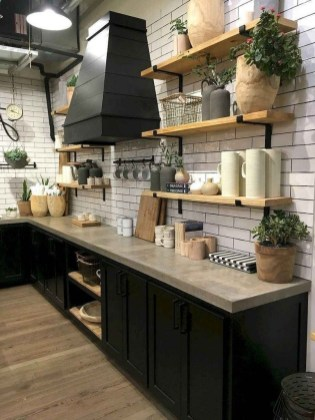 Cool Farmhouse Kitchen Decor Ideas On a Budget 35