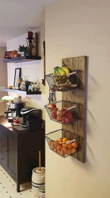 Cool Farmhouse Kitchen Decor Ideas On a Budget 43