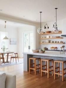 Cool Farmhouse Kitchen Decor Ideas On a Budget 50