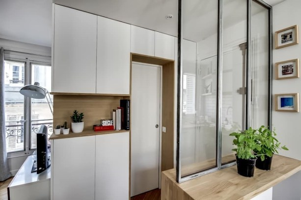 Cozy Room Divider for Small Apartments 10
