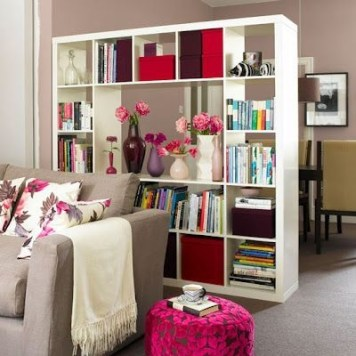 Cozy Room Divider for Small Apartments 19