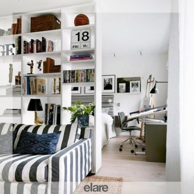 Cozy Room Divider for Small Apartments 35