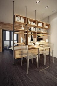 Cozy Room Divider for Small Apartments 42