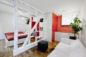 Cozy Room Divider for Small Apartments 56