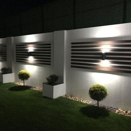 Gorgeous Front Fence Lighting Ideas to Apply Now 13