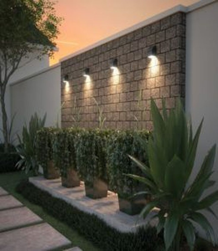 Gorgeous Front Fence Lighting Ideas to Apply Now 21
