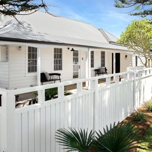 How to Coolest & Looks Bright, with Fences White-colored House 11