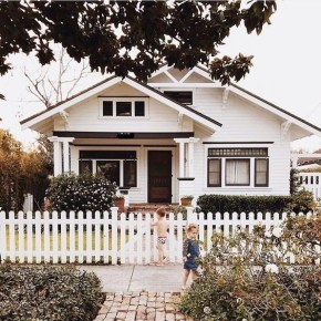How to Coolest & Looks Bright, with Fences White-colored House 43
