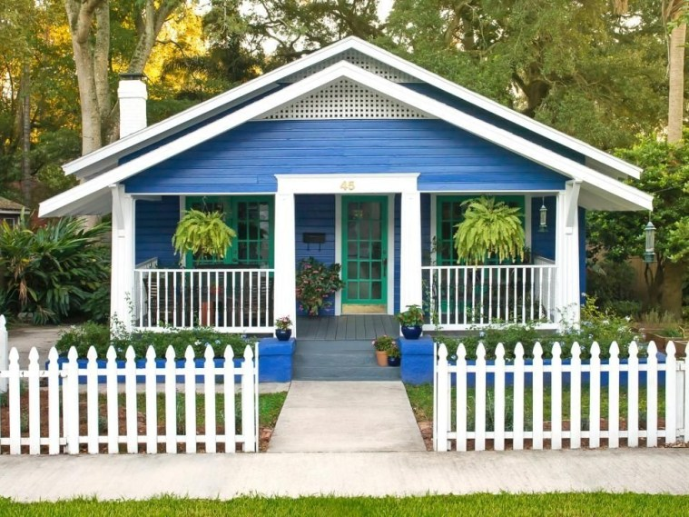 How to Coolest & Looks Bright, with Fences White-colored House 51