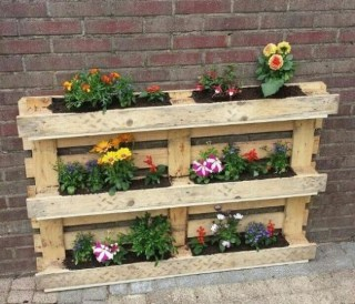 Inexpensive DIY Planter with Pallet 13