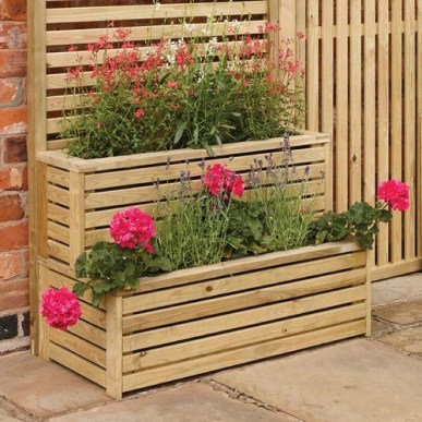 Inexpensive DIY Planter with Pallet 37