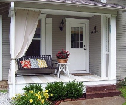 Outdoor Curtain Ideas to Spice Up Your Outdoor Space 06