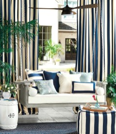 Outdoor Curtain Ideas to Spice Up Your Outdoor Space 12