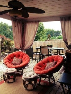 Outdoor Curtain Ideas to Spice Up Your Outdoor Space 18