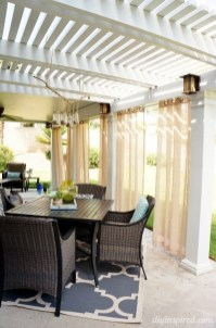 Outdoor Curtain Ideas to Spice Up Your Outdoor Space 20
