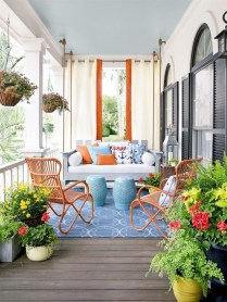 Outdoor Curtain Ideas to Spice Up Your Outdoor Space 36