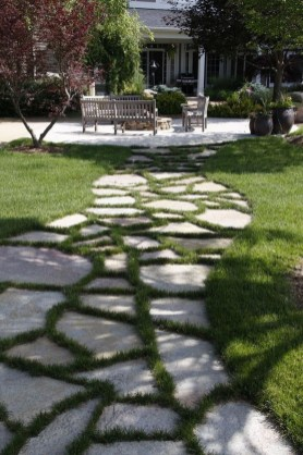 Stunning Garden Path and Walkways Design to Beautify Your Garden 06