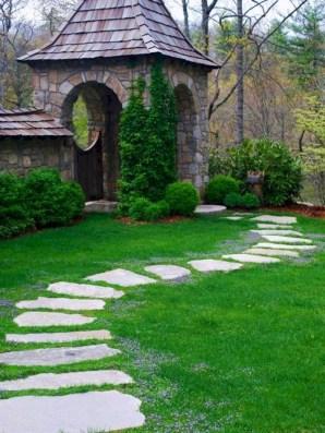 Stunning Garden Path and Walkways Design to Beautify Your Garden 07