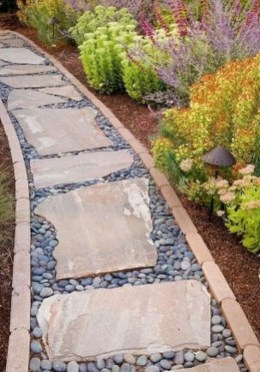 Stunning Garden Path and Walkways Design to Beautify Your Garden 11
