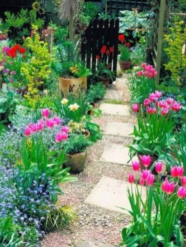 Stunning Garden Path and Walkways Design to Beautify Your Garden 36
